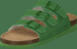 8d7be984932 Sköna Marie Shell Grön Green Biosandal Sandal Comfort Arbetssko Anatomisk