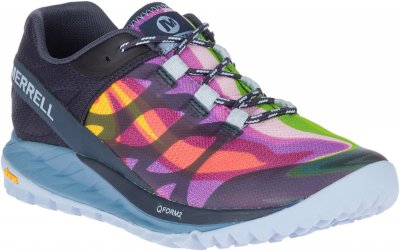 Merrell Antora Rainbow mountain collection Promenadsko jogging dam anatomisk fotriktig