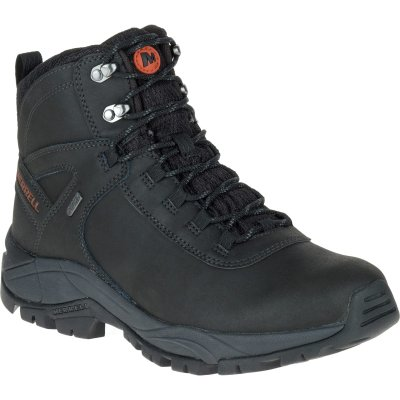 Men's Vego Mid Leather Waterproof / Black