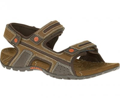 Merrell Sandspur Oak Dark Earth Brun Sandal