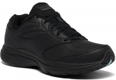Saucony integrity st3 walker 3 wide svart black dam walkingsko komfort och stabilitet.