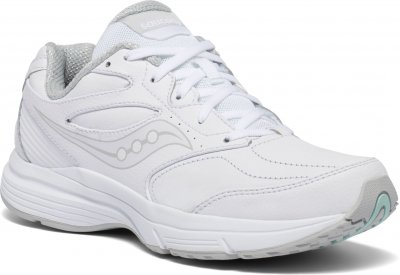 Saucony integrity st3 walker 3 wide vit white dam walkingsko komfort och stabilitet.