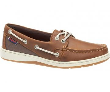 Sebago Maleah Two Eye Brun