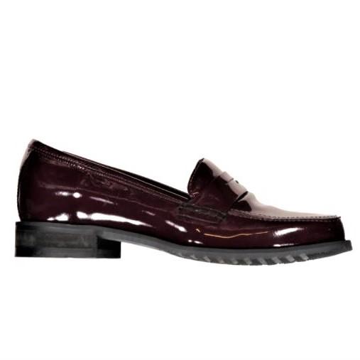 loafers skinn dam